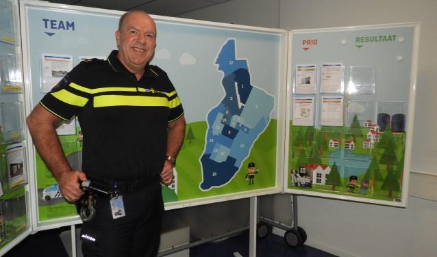"""Teamchef politie Haarlemmermeer Fred Roest: """"Het is meer dan zorgelijk dat een deel van onze jeugd tegenwoordig met messen op straat rondloopt."""""""
