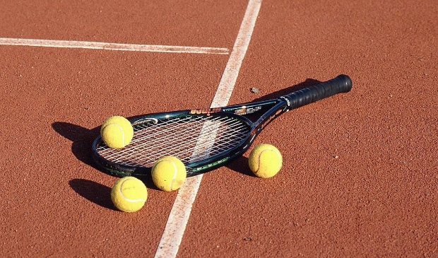 Tennis bij LTV Leusden