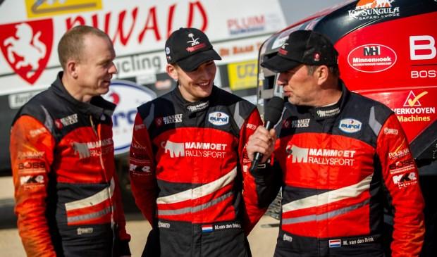 Wouter de Graff, Mitchel van den Brink en Martin van den Brink hebben hun missie in de Dakar Rally 2020 volbracht.