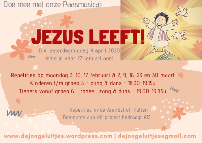 Flyer Paasproject