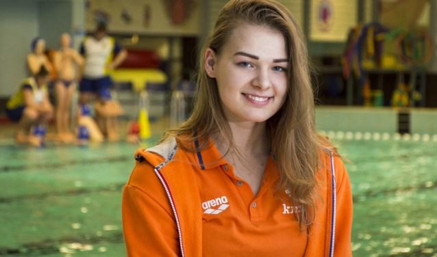 Simone van de Kraats is één van de drie Polar Bears-speelsters die meedoet aan het EK.
