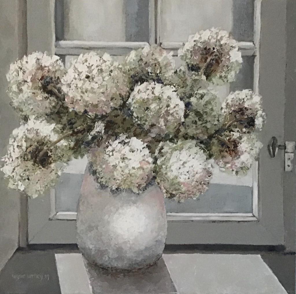 Bloemen, geschilderd door de Hardinxeldse. Privé © BDU media