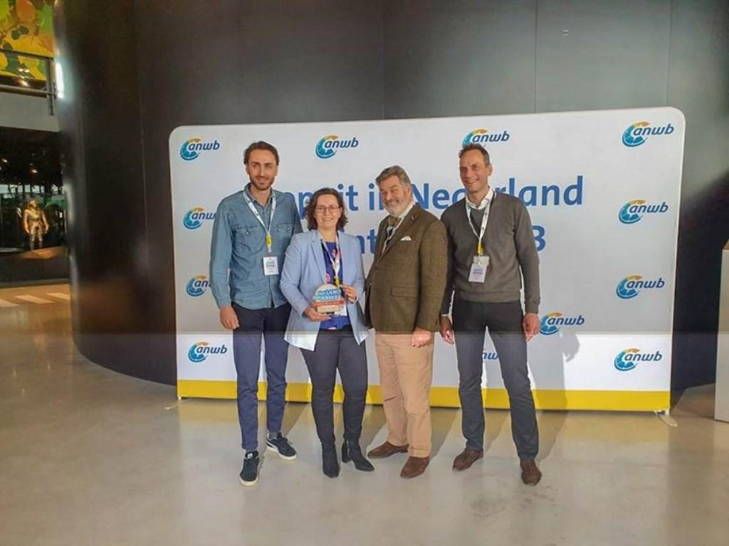 Jeroen Klaphake, Carla Marcus, Directeur Paul van Vlijmen, Ronnie Weijers.