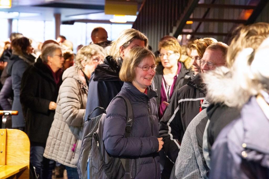 De Nieuwjaarswandeling zaterdag in Kootwijkerbroek. Bram van den Heuvel © BDU media