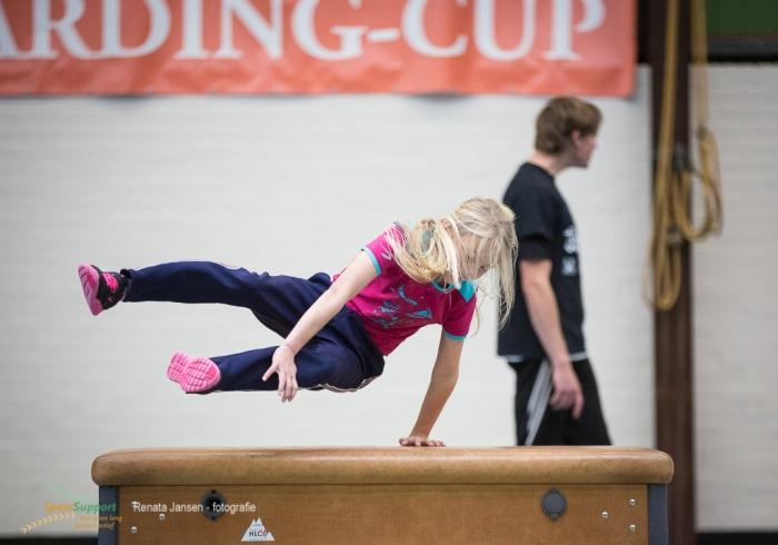 Kids in actie tijdens freerunnen