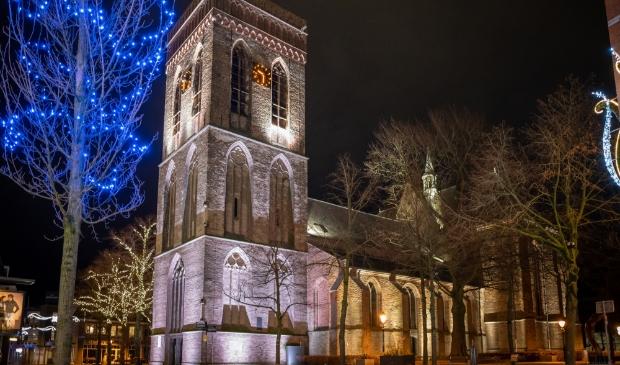 De Oude kerk in Ede.