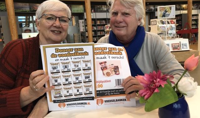 Magda Roestenburg en Reinier van Kuyk hopen dat de voucher-actie een groot succes wordt.