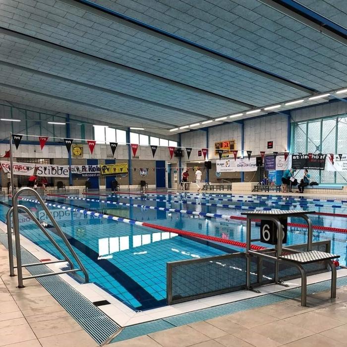 Het 25m bad van Sportboulevard De Engh