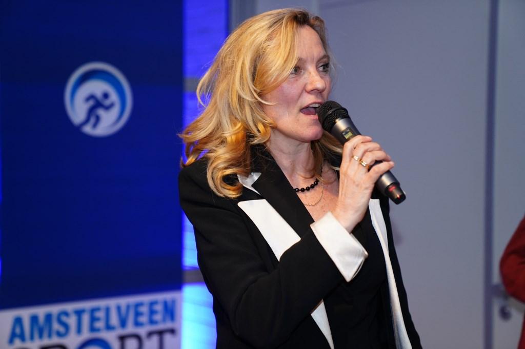 Directeur van AmstelveenSport Heleen Ketwich Verschuur.  Naomi Heidinga © BDU media