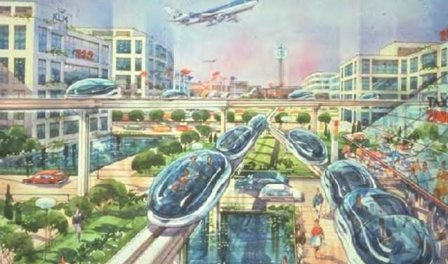 De droom van de familie Poot: een Airportcity.