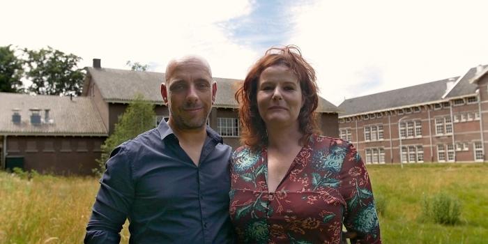 De initiatiefnemers Christian Weij en Petra Busser Boyan Ortse © BDU Media
