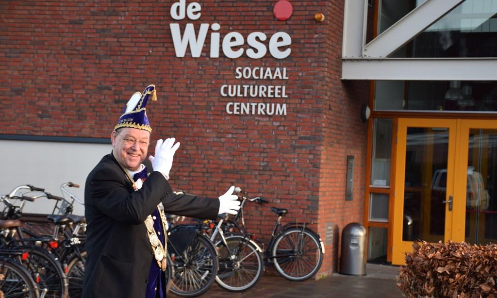 Senator Ben van der Werf nodigt u uit voor het nieuwe carnaval
