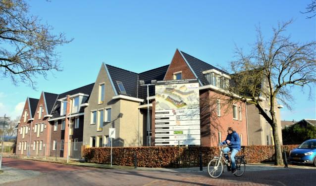 De nieuwbouw van het Careander zorgcentrum in Lunteren is bijna klaar.