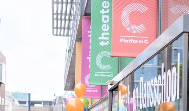 Platform C aan het Stadsplein.