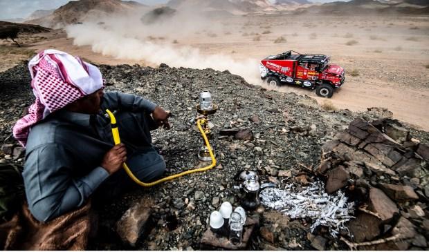 Martin van den Brink presteert uiterst constant in de Dakar Rally.