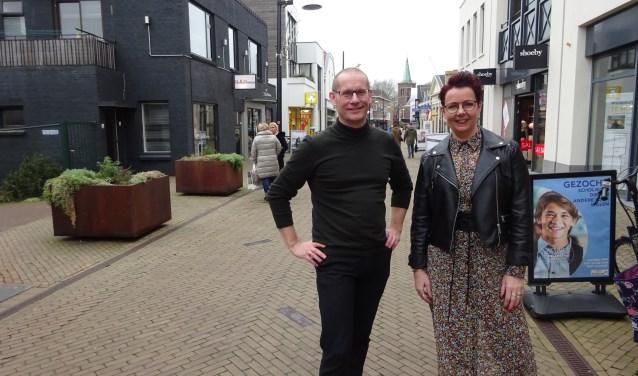 Floris Frenzen en Marilyn van Oosterhout.