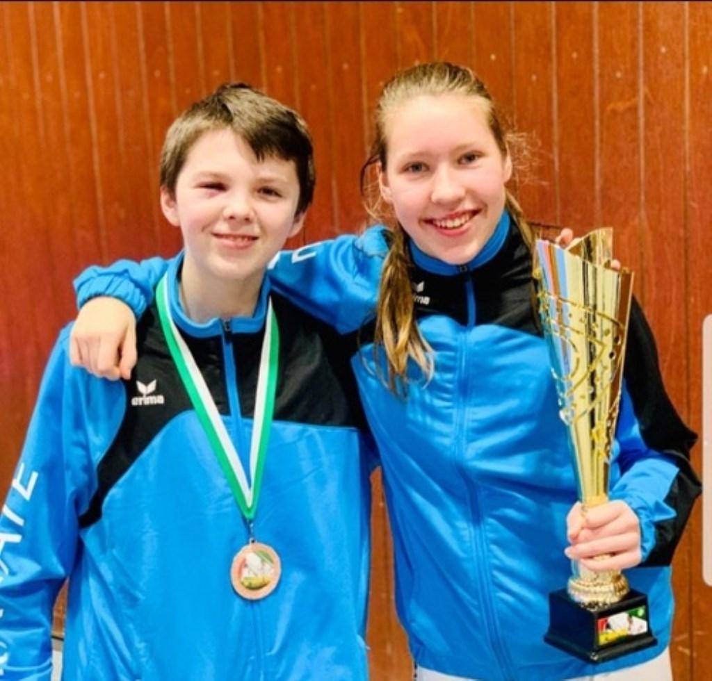 Darryl en Nessa op de Coupe Milon Luxemburg