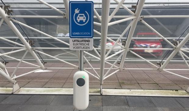 Laadpaal voor elektrisch rijden