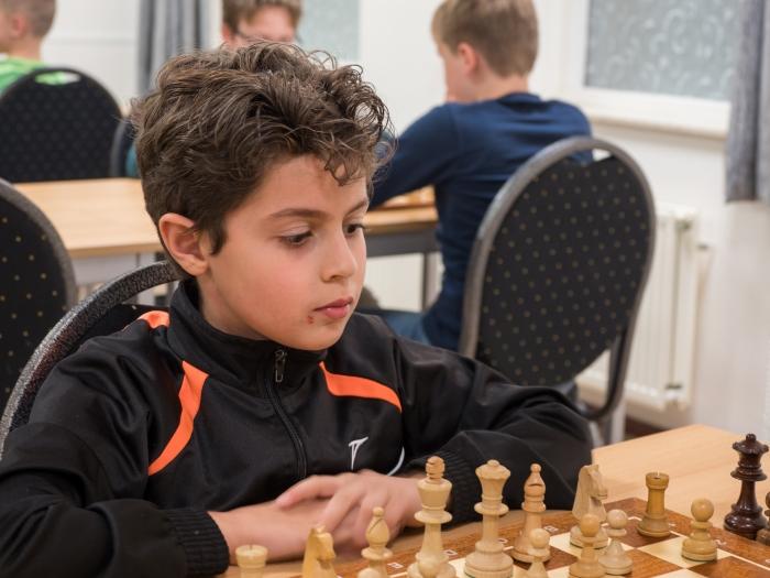 Jabber Al-Yassin, kampioen jeugdgroep 2