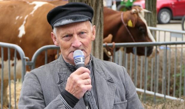 Steven van Hell tijdens de laatste editie van de Ossenmarkt.