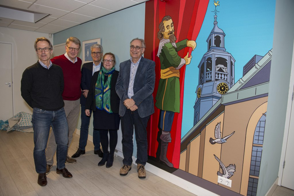 Het bestuur van de Stichting Adriaan Pauw was ook aanwezig Ellen Toledo © BDU media