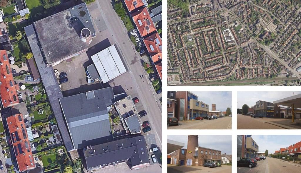 Het plangebied van bovenaf gezien Van Wanrooij www.molenweg22-30.nl © BDU media