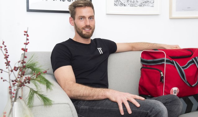 Als tiener debuteerde Erwin Hermsen in het eerste en na dit seizoen houdt het avontuur bij de selectie van Hoogland op. De 35-jarige voetballer stopt ermee.