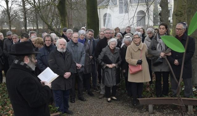 International Holocaust Memorial Day: Herdenking van het joodse werkkamp bij het Sarah-monument