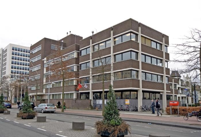 Een van voormalige rechtbankgebouwen, volgens GroenLinks Amersfoort ideaal om te gebruiken voor tijdelijke bewoning.