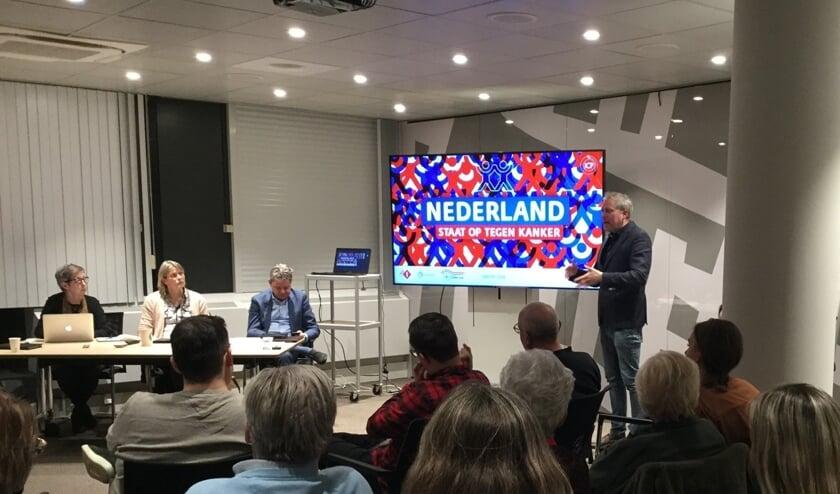 Donderdagavond hield I Care producent een presentatie in het stadhuis