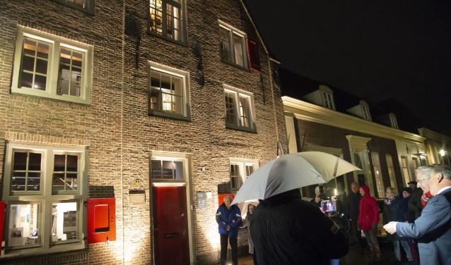 Afgelopen najaar heeft het museum buitenverlichting ontvangen.