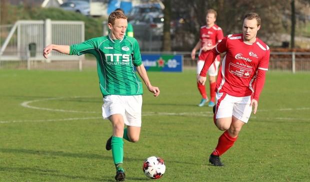 RODA´23 speelde in De Kwakel gelijk tegen KDO.