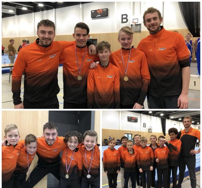 De turners en trainers van Exalto Sport