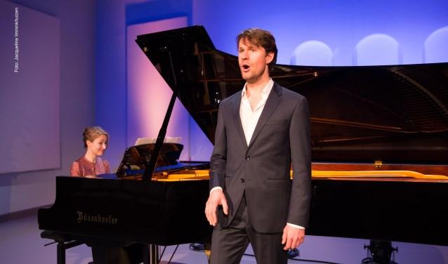 Tenor Peter Gijsbertsen brengt op zaterdag 25 januari Schuberts zwanenzang 'Schwanengesang'.