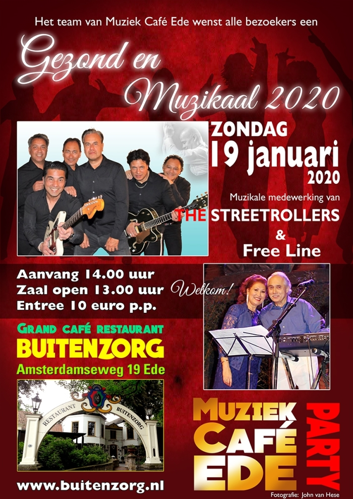 Back to the 60's in Buitenzorg Ede.