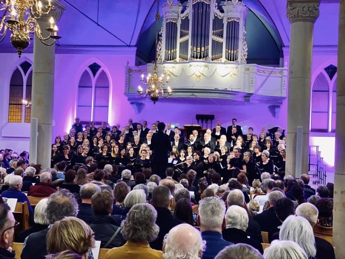 Jubilate Deo onlangs tijdens een van de Kerstconcerten