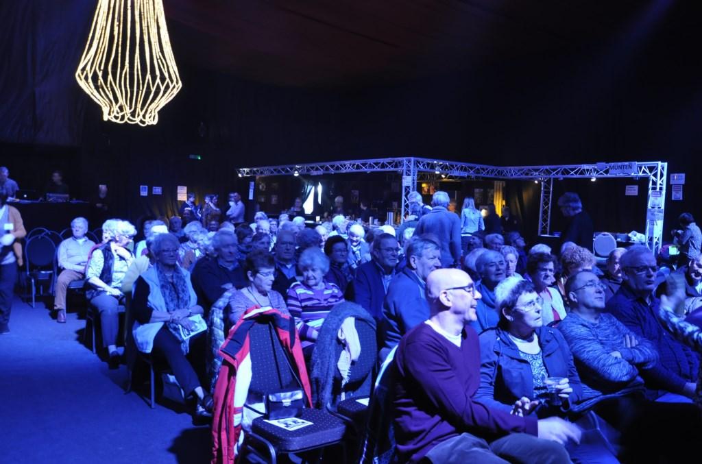 Het publiek genoot van de voorstelling Agnes Corbeij © BDU media
