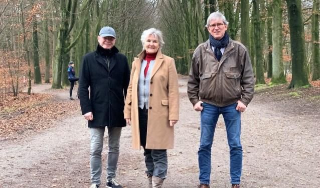 Ad Heesels, Ien van der Pol en Pieter Schut.