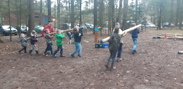 scouts van jong tot oud werken samen Toon Hollanders © BDU media