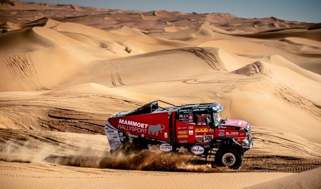 Martin van den Brink ligt volledig op koers om zijn missie te volbrengen. De Harskamper wil finishen in de Dakar Rally 2020.