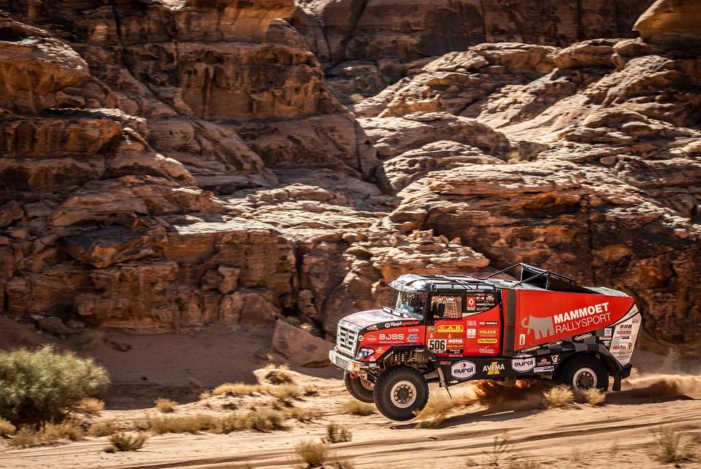 Het team van Mammoet Rallysport nadert de top tien met rasse schreden.  Jose Mario Dias © BDU Media
