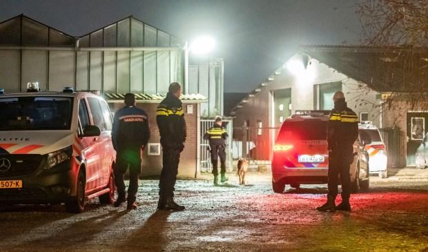 De gemeente en politie voerden een integrale controle uit. Van het pand op de foto is niet bekend of er overtredingen zijn begaan.