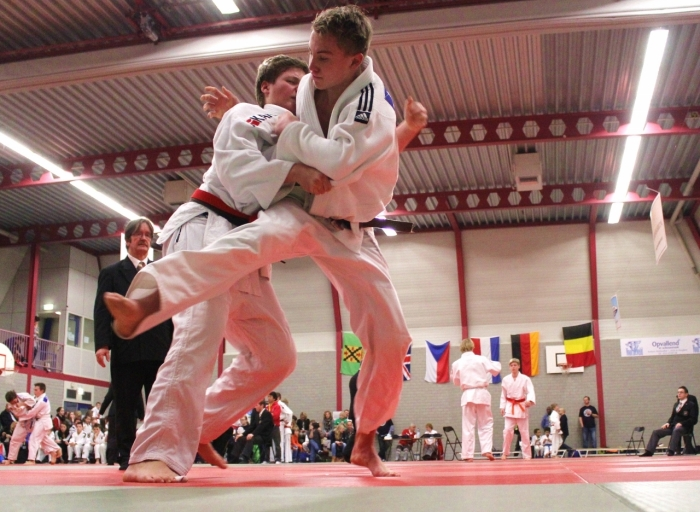 Internationaal Hooglands Judotoernooi in volle actie