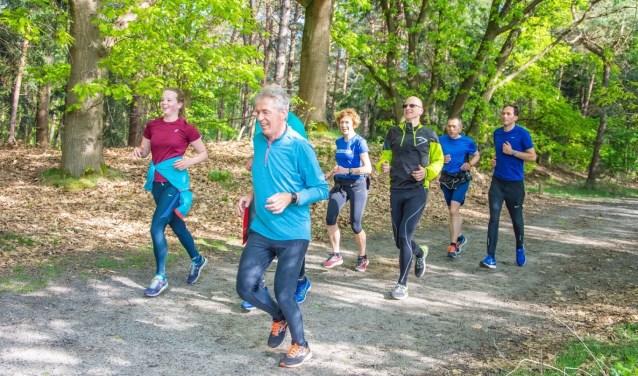 Plezier in hardlopen en een rustige opbouw staan centraal bij de trainingen.