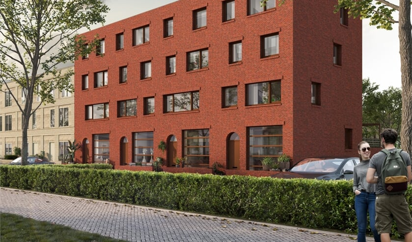 In het Hogekwartier verrijst het nieuwbouwproject Wonen in Verdi.
