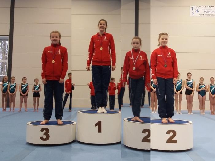 Sanne van Hoorn, Nienke Bosman, Laura Blok , Mirthe Pleizier