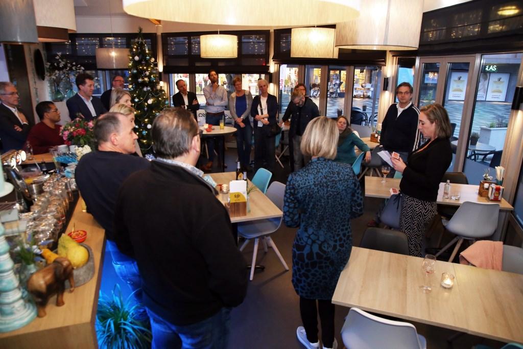 Nieuwjaarsborrel ZPoint Leusden. Willem Eelman © BDU media