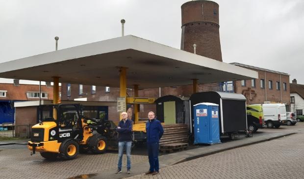 Paul Link en Joop Spaans hadden bezwaren tegen sloop van de molen.