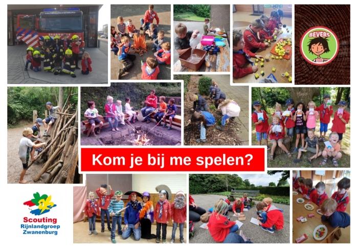 Verschillende activiteiten van de Bevers Rijnlandgroep © BDU media