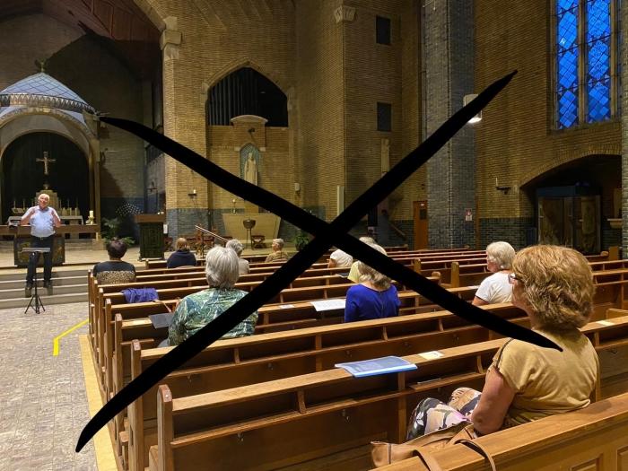 kruis door koorrepetitie A Wagner © BDU media